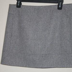 JCREW Felted-wool Bistro MINI SKIRT